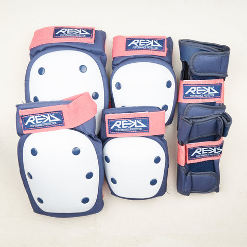 REKD Heavy Duty Pad set - Blue / Pink