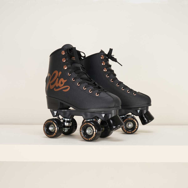 Rio Roller Rose Rollerksates - Black / Rose