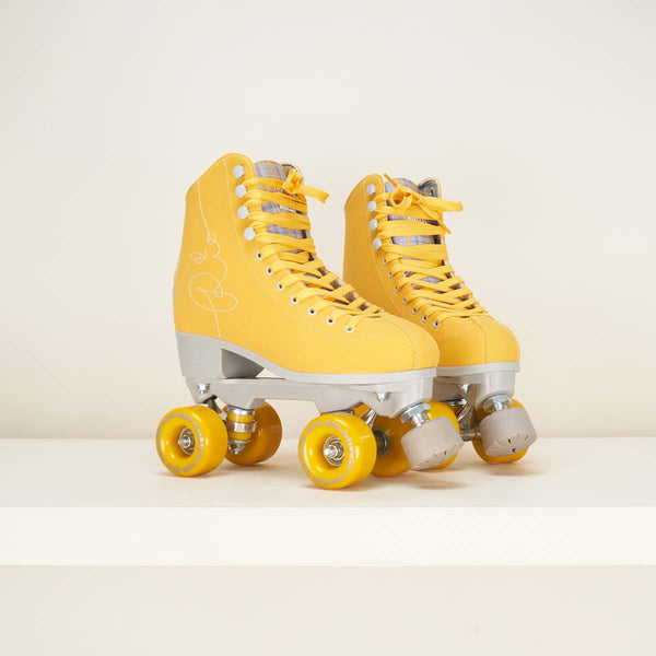 Rio Roller Signature Rollerskates Yellow