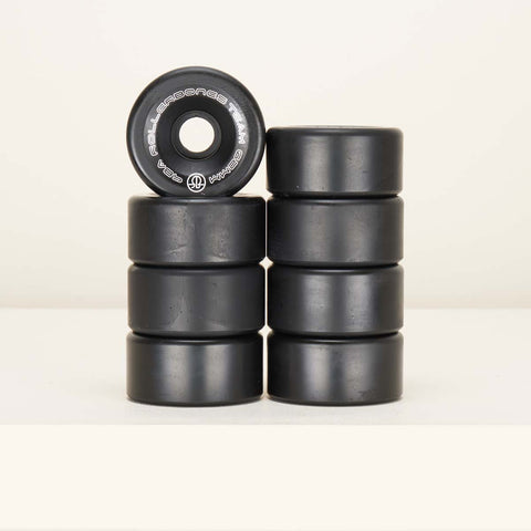 Rollerbones 62mm Wheels Team Logo - Black