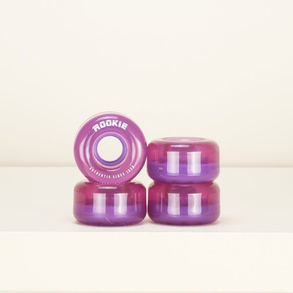 Rookie Disco Skate 58mm Wheels -  Clear Purple