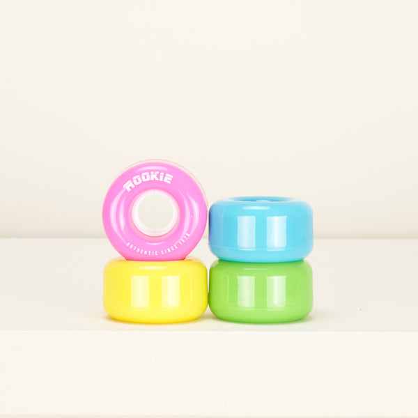 Rookie Disco 58mm Skate Wheels -  Multi
