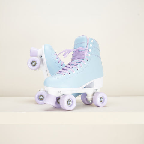Rookie Bubblegum Blue Roller Skates
