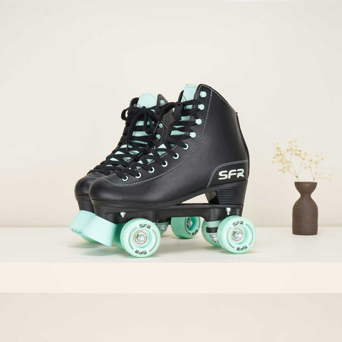 SFR Figure Quad Skates Black / Mint