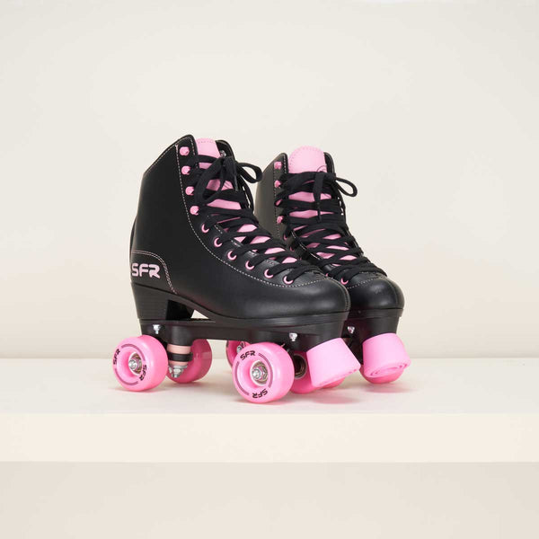 SFR Figure Quad Skates Black / Pink