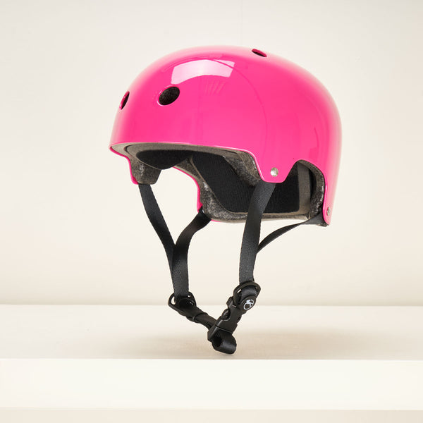 SFR Essentials Helmet - Gloss Fluro Pink