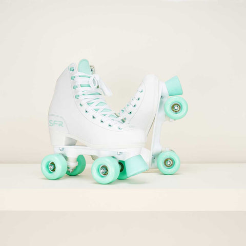 SFR Figure Quad Skates White / Mint