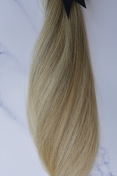 "Alma Blonde - 118 grams - 23"" - Luxury Hair extensions, Virgin Brazilian hair, real hair extensions 