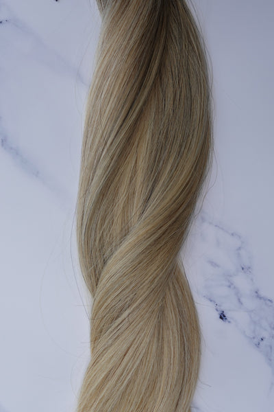 "Alma Blonde - 111 grams - 23"" - Luxury Hair extensions, Virgin Brazilian hair, real hair extensions 