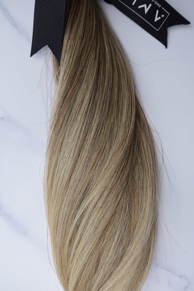"Alma Blonde - 124 grams - 23"" - Luxury Hair extensions, Virgin Brazilian hair, real hair extensions 