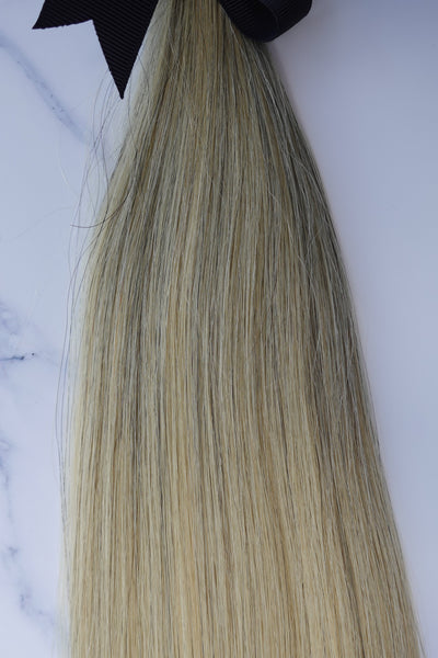 "Alma Blonde - 113 grams - 23"" - Luxury Hair extensions, Virgin Brazilian hair, real hair extensions 
