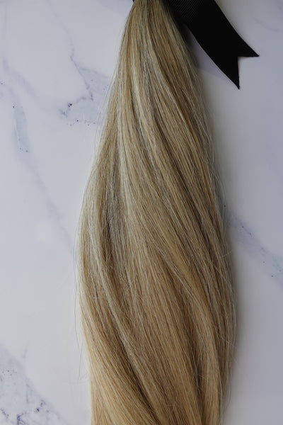 Alma Blonde - 125 grams - 24in - Luxury Hair extensions, Virgin Brazilian hair, real hair extensions | Alma Hair Extensions