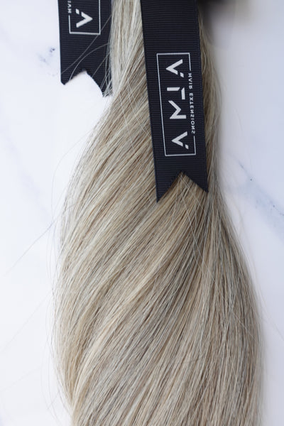 "Alma Blonde - 114 grams - 22"" - Luxury Hair extensions, Virgin Brazilian hair, real hair extensions 