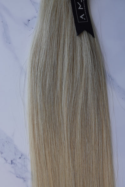 "Alma Blonde - 122 grams - 29"" - Luxury Hair extensions, Virgin Brazilian hair, real hair extensions 