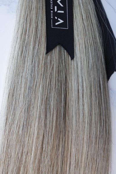 "Alma Blonde - 115 grams - 23"" - Luxury Hair extensions, Virgin Brazilian hair, real hair extensions 