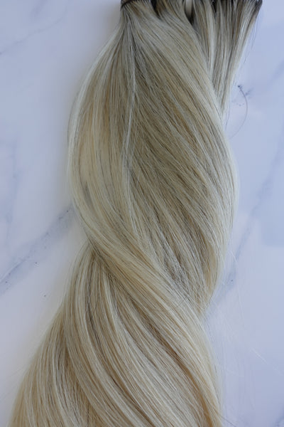 "Alma Blonde - 123 grams - 24"" - Luxury Hair extensions, Virgin Brazilian hair, real hair extensions 