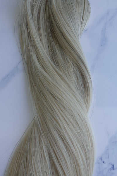 "Alma Blonde - 114 grams - 23"" - Luxury Hair extensions, Virgin Brazilian hair, real hair extensions 
