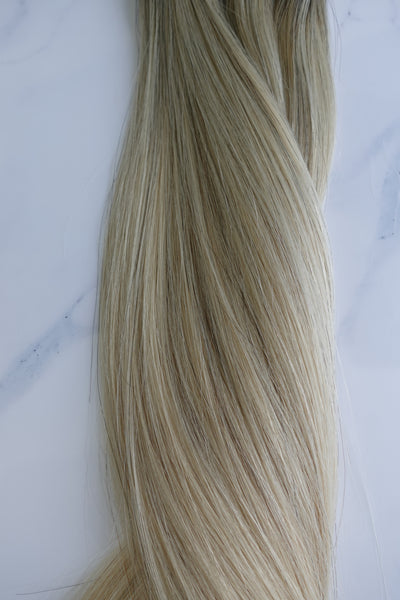 "Alma Blonde - 126 grams - 24"" - Luxury Hair extensions, Virgin Brazilian hair, real hair extensions 