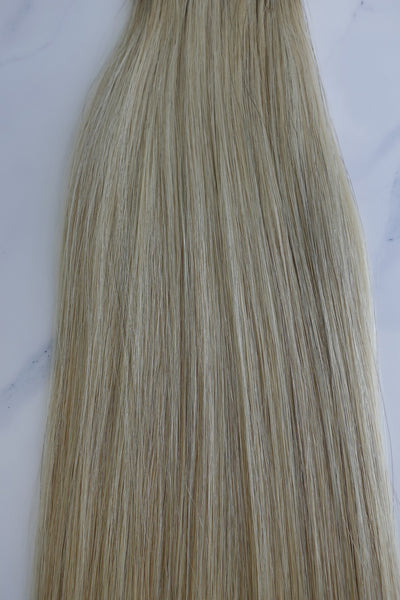 "Alma Blonde - 120 grams - 28"" - Luxury Hair extensions, Virgin Brazilian hair, real hair extensions 