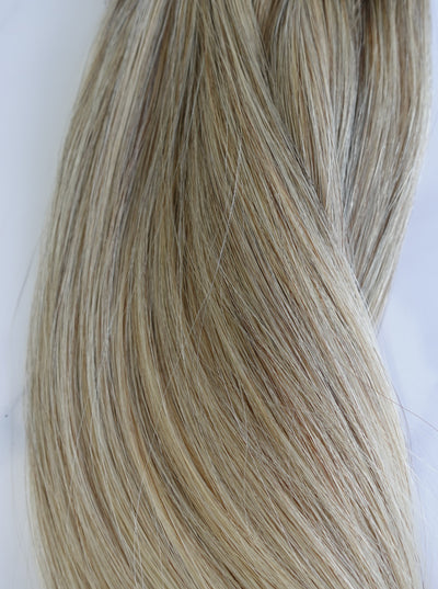 "Alma Blonde - 121 grams - 21"" - Luxury Hair extensions, Virgin Brazilian hair, real hair extensions 