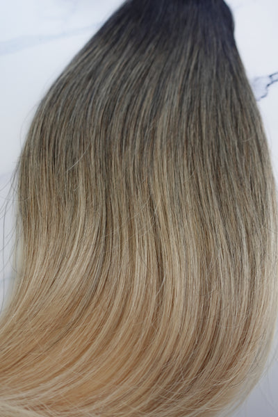 "Alma Blonde - 111 grams - 24"" - Luxury Hair extensions, Virgin Brazilian hair, real hair extensions 