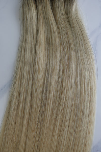 "Alma Blonde - 134 grams - 25"" - Luxury Hair extensions, Virgin Brazilian hair, real hair extensions 