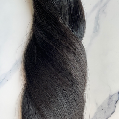 "Alma Pure - 160 grams - 24"" - Luxury Hair extensions, Virgin Brazilian hair, real hair extensions 