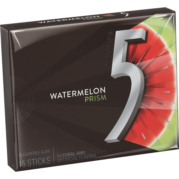 Wrigleys 5 Gum Watermelon Sugar-free Chewing Gum-Krave Bites