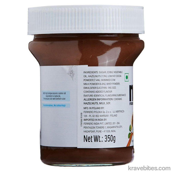 Nutella Chocolate Spread 350 g-Chocolate-Krave Bites-Krave Bites