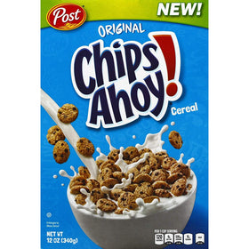 Post Chips Ahoy! Cereal  (340 g, Box)