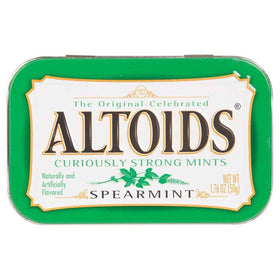 Altoids Curiously Strong Mints Spearmint Pouch, 50 g