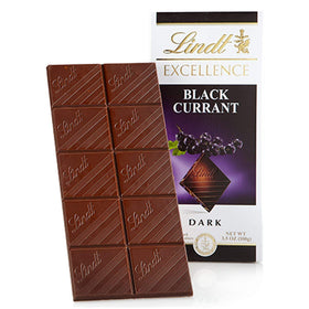 Lindt Excellence Dark Black Currant 100g - Pack of 2