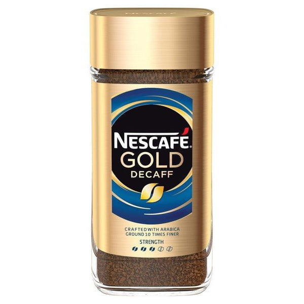 Nescafe Gold Blend Decaf Roast & Ground Coffee (100 g)-Coffee-Krave Bites-Krave Bites