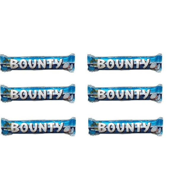 Bounty Chocolates - 57gm Imported (Pack Of 6)-Krave Bites