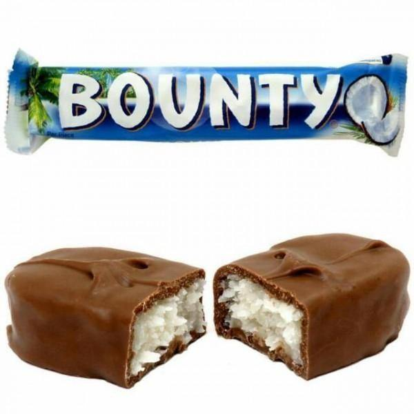 Bounty Chocolates - 57gm Imported-Chocolate-Krave Bites-Krave Bites