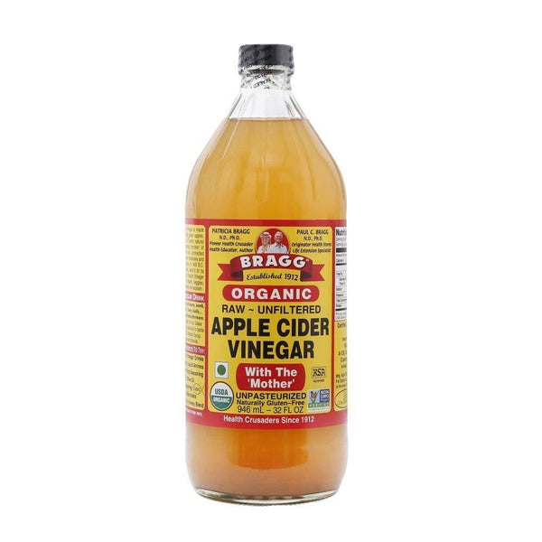 Bragg Organic Raw Apple Cider Vinegar-Oil & Vinegar-Krave Bites-Bragg 946ml-Krave Bites