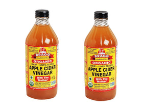 Bragg Organic Raw Apple Cider Vinegar 473ml (Pack Of 2)
