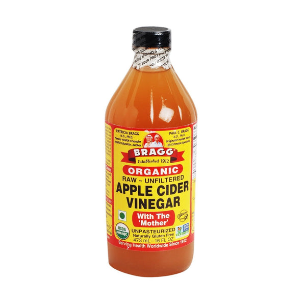 Bragg Organic Raw Apple Cider Vinegar-Oil & Vinegar-Krave Bites-Bragg 473ml-Krave Bites