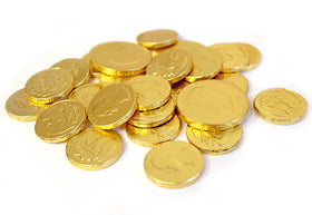 Chocolate Gold Coins (Imported)