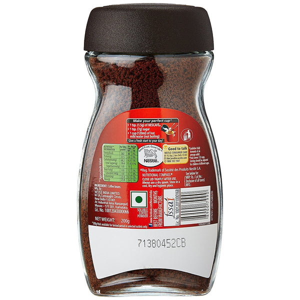 Nescafe Classic Coffee (Imported) Instant Coffee (200 g)-Coffee-Krave Bites-Krave Bites