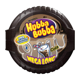 Wrigleys Hubba Bubba Mega Long Cola Bubble Gum, 56g