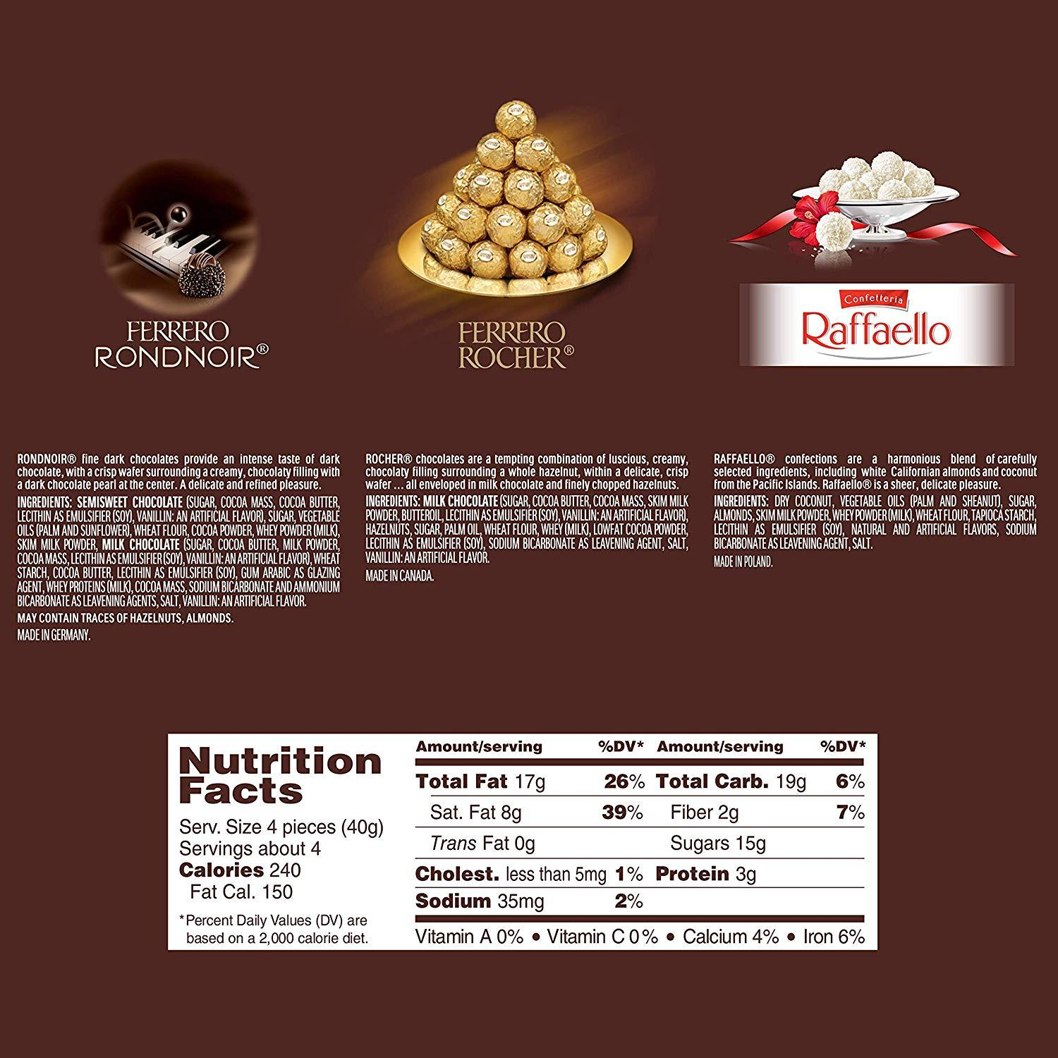 Ferrero Rocher Collection Imported 296 G Buy Online In India Krave Bites