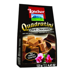 Loacker Quadratini Dark Chocolate 125g