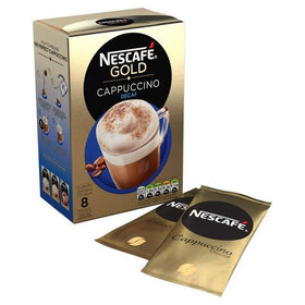 Nescafe Gold Cappuccino Decaf (Imported) Instant Coffee  (120 g)