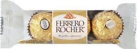 Ferrero Rocher 3 Pcs Chocolate (Imported)
