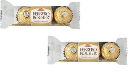 Ferrero Rocher 3 Pcs Imported Chocolate (Pack of 2)