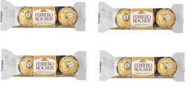 Ferrero Rocher 3 Pcs Imported Chocolate (Pack of 4)