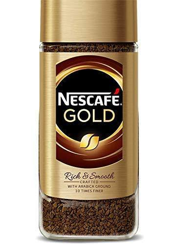 Nescafe Gold Rich and Smooth Instant Coffee Imported (200 g)-Krave Bites