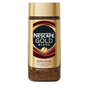 Nescafe Gold Blend Rich and Smooth Instant Coffee Imported (200 g)