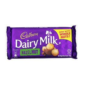 Cadbury Dairy Milk Imported Hazelnut, 165g